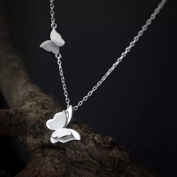 Jewelry - Stainless Steel Butterfly 🦋 Necklace